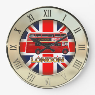 The London Red Bus Clocks