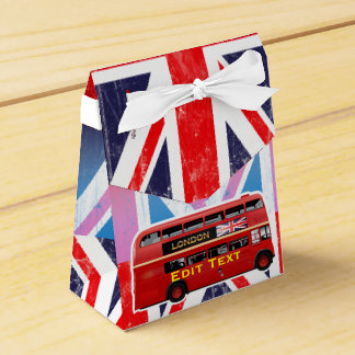The London Red Bus Favour Box
