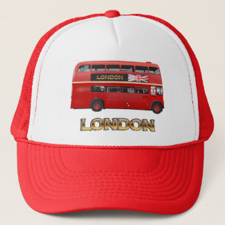 The London Red Bus Trucker Hat