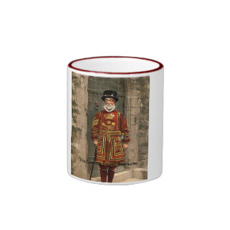 The London Tower Beefeater Ringer Mug