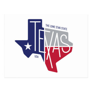 The Lone Star State Postcard