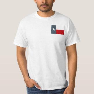 The Lone Star State Texas Flag Faded Denim Blue T-Shirt