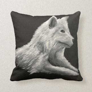 'The Lone Wolf' Cushion