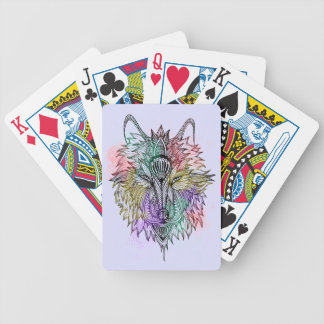 The Lone Wolf Poker Deck