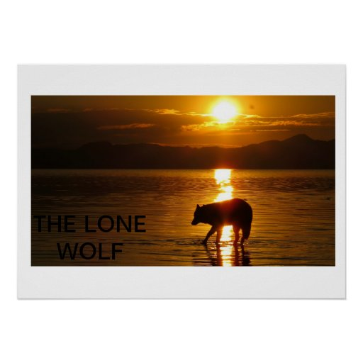 The Lone Wolf Posters