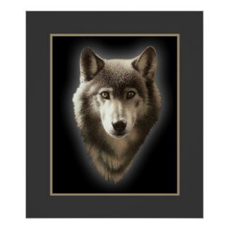 The Lone Wolf Print