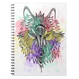 The Lone Wolf Spiral Notebook