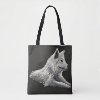 'The Lone Wolf' Tote Bag