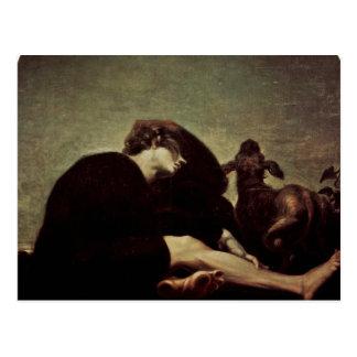 The Loneliness At Dawn By Füssli Johann Heinrich ( Postcard
