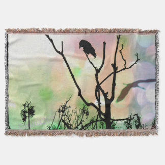 The Lonely Crow Blanket