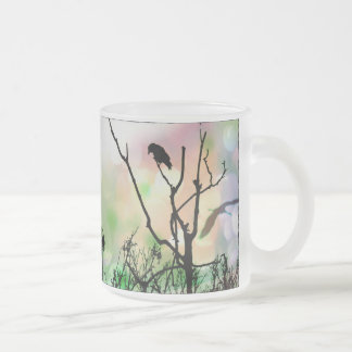 The Lonely Crow Frosted Mug