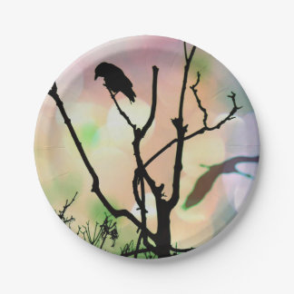 The Lonely Crow Paper Plates