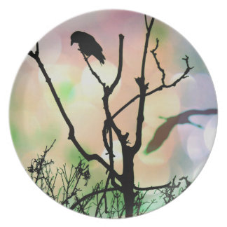 The Lonely Crow Plate
