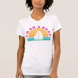 The Lonely Island On A Boat Tee Shirts