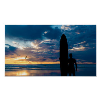 The Long boarder Poster