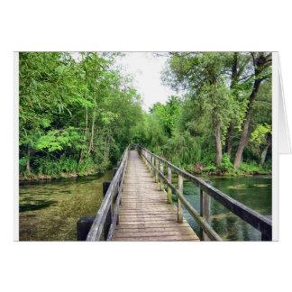 The Long Bridge Card