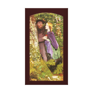 The Long Engagement by Arthur Hughes Gallery Wrap Canvas