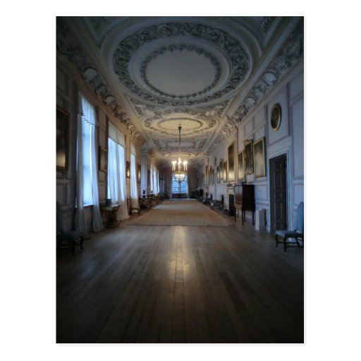 The Long Gallery at Sudbury Hall, Derbyshire Post Cards