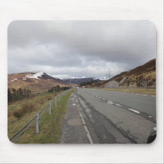 The long highland road mouse mat