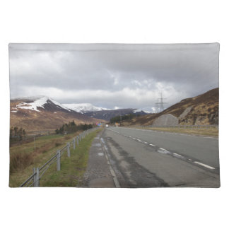 The long highland road placemat