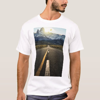 The Long Road To Fitzroy Mountain - Ruta 40 T-Shirt