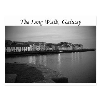 The Long Walk, Galway Postcard