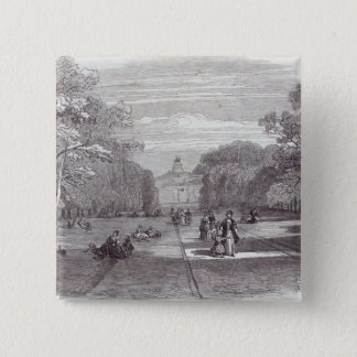 The Long Walk, Windsor 15 Cm Square Badge