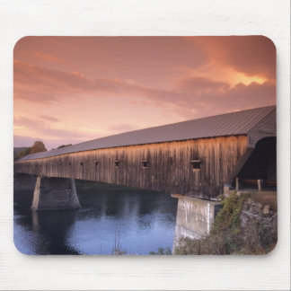 The longest covered bridge in the United States Mouse Pad