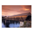 The longest covered bridge in the United States Postcard