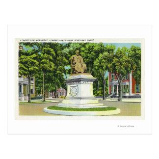 The Longfellow Monument # 2 Postcard