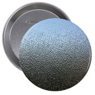 The Look of Architectural Textured Glass 10 Cm Round Badge