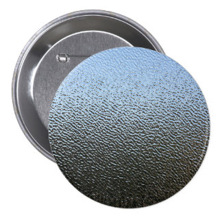 The Look of Architectural Textured Glass 7.5 Cm Round Badge