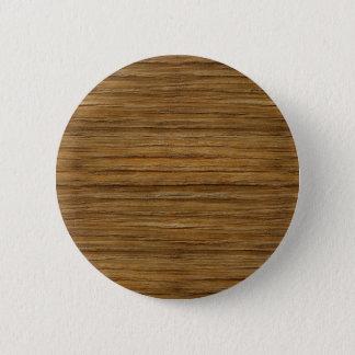 The Look of Driftwood Oak Wood Grain Texture 6 Cm Round Badge