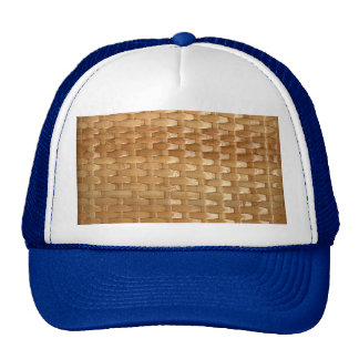 The Look of Lacquer Wicker Basketweave Texture Cap