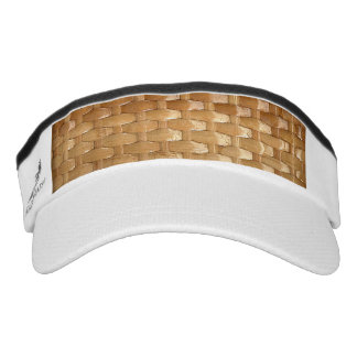 The Look of Lacquer Wicker Basketweave Texture Visor