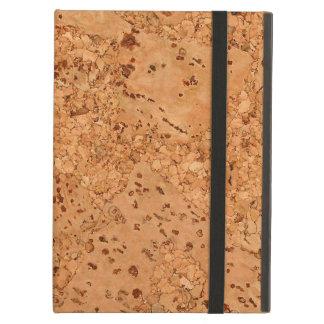 The Look of Macadamia Cork Burl Wood Grain Cover For iPad Air