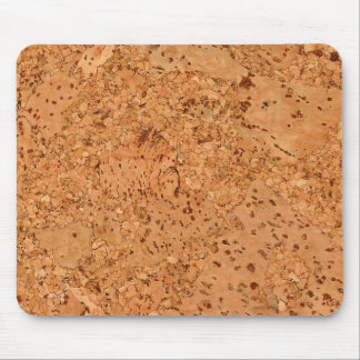 The Look of Macadamia Cork Burl Wood Grain Mouse Mat