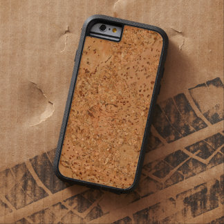 The Look of Macadamia Cork Burl Wood Grain Tough Xtreme iPhone 6 Case