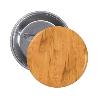The Look of Maple Wood Grain Texture 6 Cm Round Badge