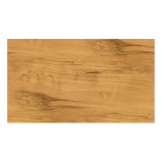 The Look of Maple Wood Grain Texture Pack Of Standard Business Cards