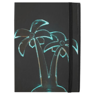 The Look of Neon Lit Up Tropical Palm Trees