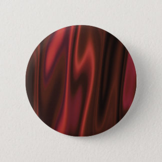 The Look of Smooth Red Satin Fabric in Folds 6 Cm Round Badge