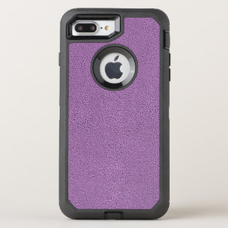 The look of Snuggly French Lilac Lavender Suede OtterBox Defender iPhone 7 Plus Case
