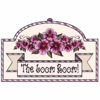 """The Loom Room"" - Decorative Sign - 29 Photo Sculpture Decoration"