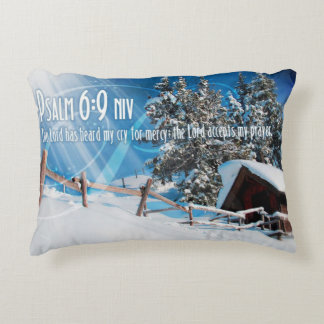 The Lord Accepts My Prayers Decorative Cushion