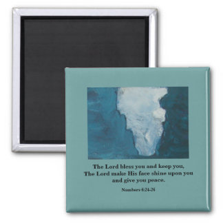 THE LORD BLESS YOU - 1118 SQUARE MAGNET