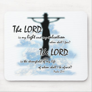 The Lord is My Light Mouse Pad