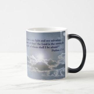 The Lord is my light mug
