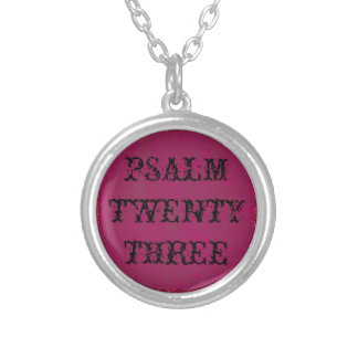 The Lord is my Sheperd Psalm 23 Christian Necklace
