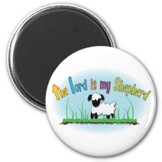 The Lord is my Shepherd Christian magnet